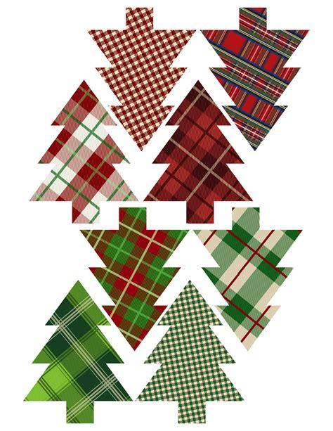 printable christmas tree and decorations printable tree decorations printable 360 degree