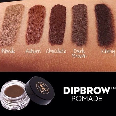 anastasia beauty hills dip brow pomade shade blonde smudge proof water proof eyebrow pomade anastasia