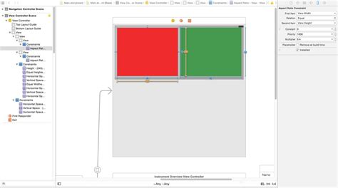 uilabel layout manager iphone autolayout to adjust image size proportional to 50
