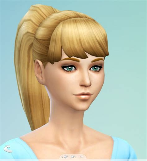 sims 4 ponytails with bangs simsticle 187 sims 4 updates 187 best ts4 cc downloads