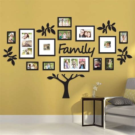 home interior picture frames 17 best ideas about photo collage walls on pinterest