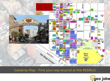 find your way around at the #esriuc with the san diego
