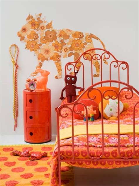 orange and pink bedroom ideas 33 wonderful room design ideas digsdigs