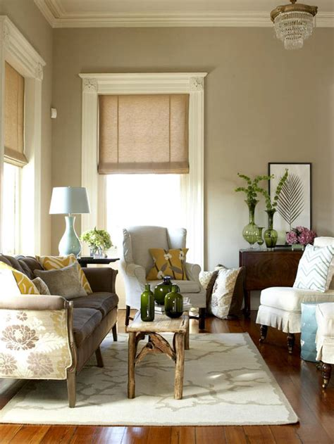 neutral living room colors bhg centsational style