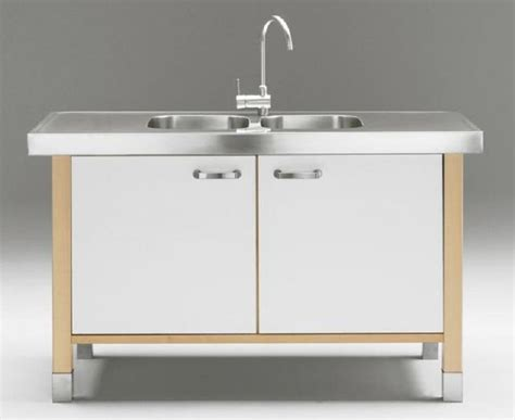 17 best ideas about free standing kitchen sink on