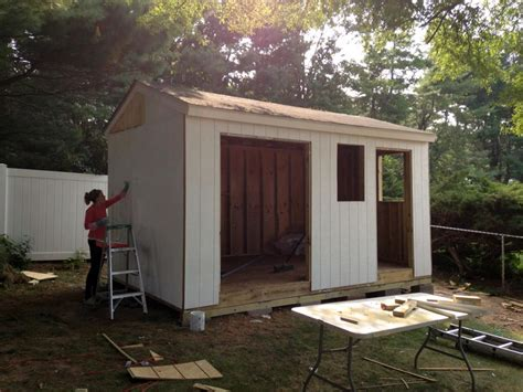 build  shed  scratch easy step  step