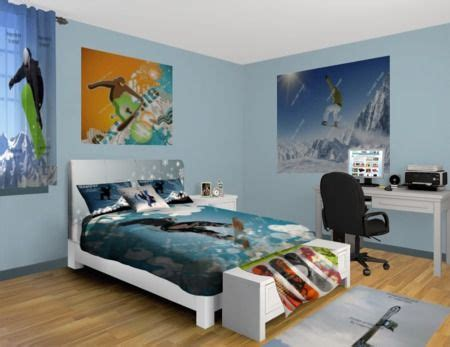 Bedroom Snowboard Snowboard Fluff Bedroom At Http Www Visionbedding