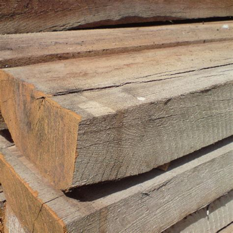 Oak Sleeper by Cfs For Timber Decking Railway Sleepers Buckinghamshire