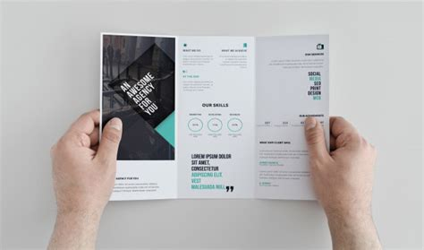 tri fold brochure template psd free 10 fresh useful free mock up psd files for may 2015