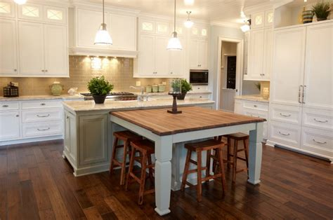Kitchen Island Ideas With Table Awesome Island Kitchen Table Ideas With Frosted Glass