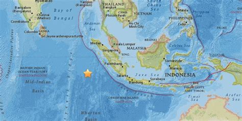 earthquake asia indonesia earthquake tsunami warning issued after