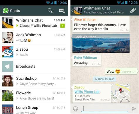 whatsapp layout whatsapp finally updated with ios 7 design
