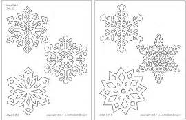 snowflake printable templates amp coloring pages