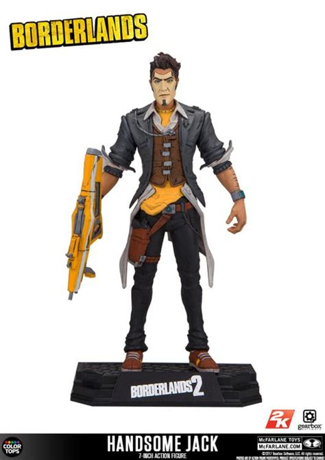 Mcfarlane Borderlands 2 Handsome borderlands 7 inch figures by mcfarlane pre orders now live the toyark news