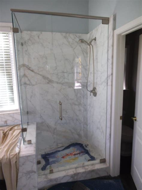 Shower Door Header Custom Glass Shower Enclosures Hinged And Sliding Systems