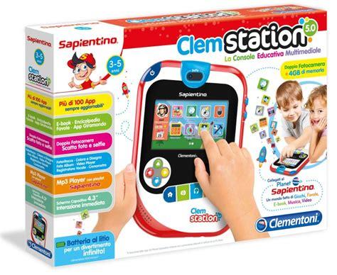 console per bambini clemstation 5 0 le novit 224 della console educativa per