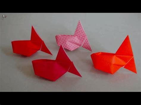 origami goldfish 3d