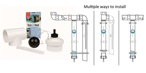 first flush diverter plans superhead rain filter and first flush diverter greenhouse