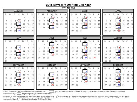 printable bi weekly calendar 2016 bing images
