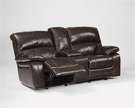 Dual Reclining Loveseat With Console by 5990043 Furniture Signature Design Mainstation Dual