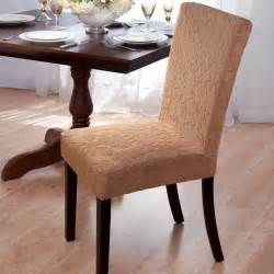 Modern Dining Chair Slipcovers Velvet Damask Stretch Dining Chair Slipcovers Contemporary Dining Chairs By Overstock