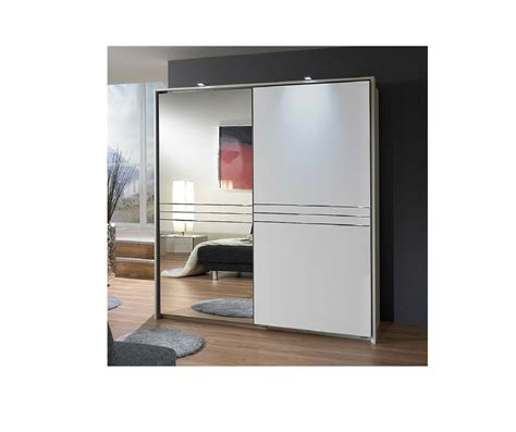 choose white mirrored wardrobe that match your design scheme