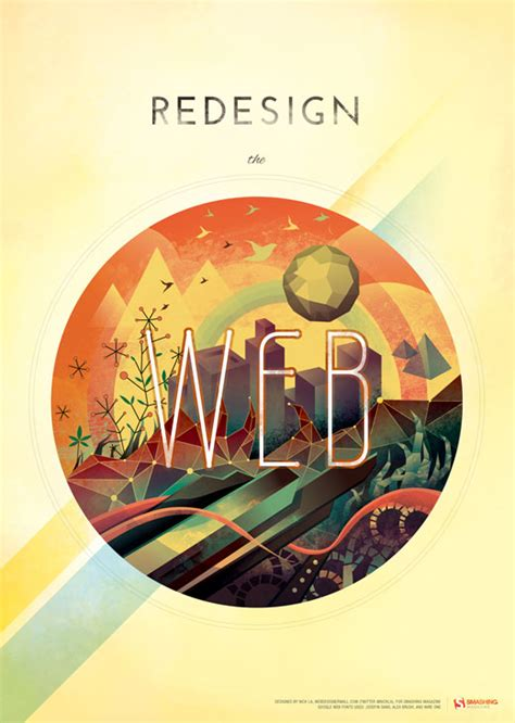 design poster on illustrator new illustration redesign the web