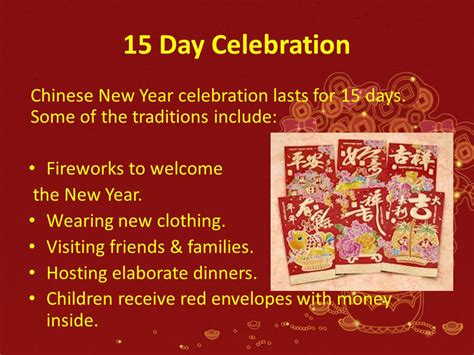 new year 15 day traditions new year ppt