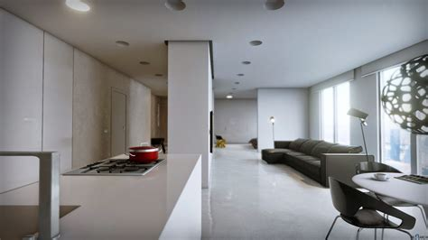 Minimalist Apartment by Minimalist Apartments Living Room Minimalist Apartment