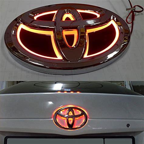 Led Toyota Emblem Led Illuminated Light Lighting Emblem Tuning Sticker 3m