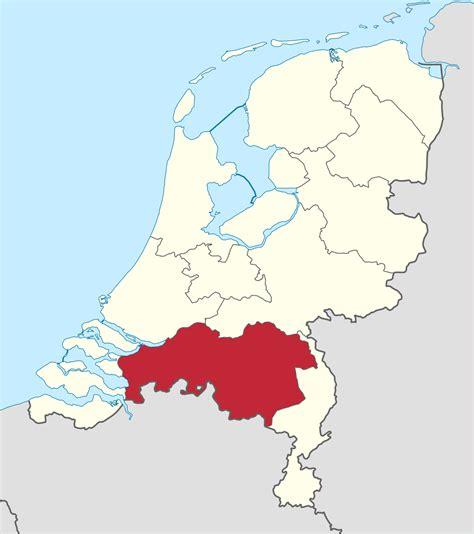 brabant netherlands map brabant