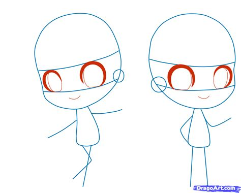 how to draw person how to draw a chibi person step by step chibis draw