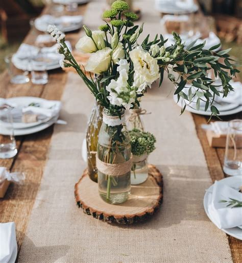 15 best wood slice centerpieces images on