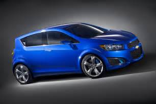chevrolet sonic rs on the way gm authority