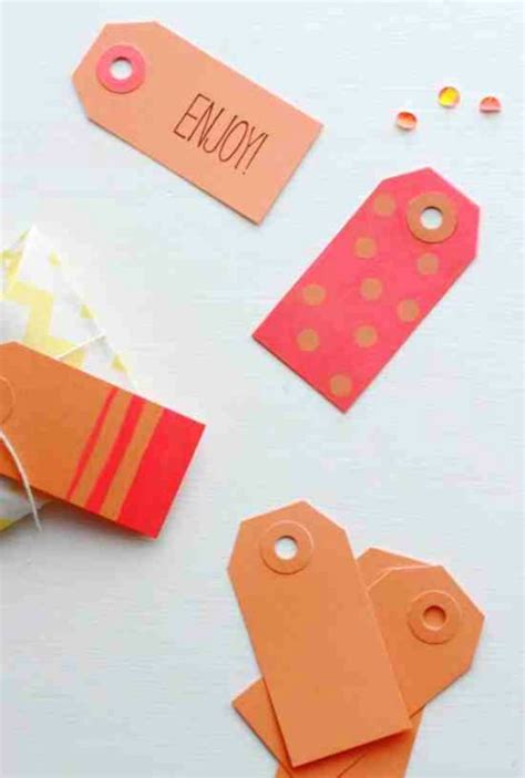 awesome diy gift tags christmas gift tags diy projects
