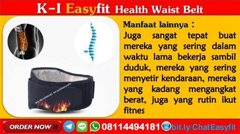 Terapi Syaraf Kejepit Di Pinggang Easyfit Waist Belt 1 wa 08114494181 obat syaraf terjepit di leher easyfit waist