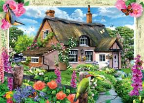ravensburger country cottage river cottage jigsaw puzzle