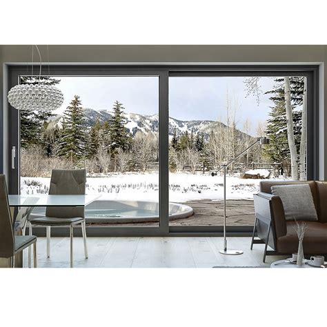 terrassen berdachung alu grau aluminium hebe schiebe t 252 r mb 77 kaufen