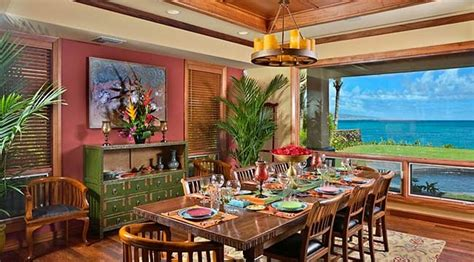 tropical dining room tropical dining room