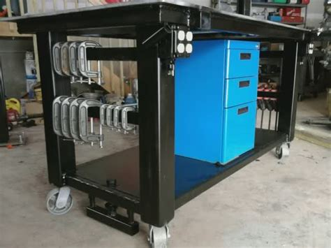 metal workshop layout tips welding table ih8mud forum