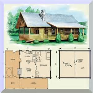 take a look at these small log cabin floor plans and