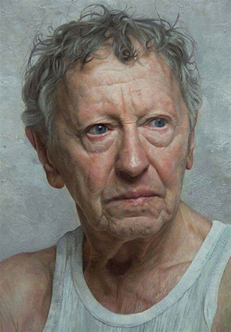 attractive portrait painting   fun