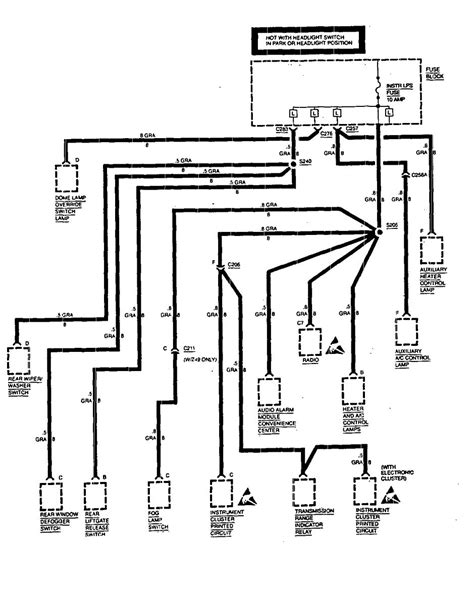Chevy Astro Van Wiring Diagram - Wiring Diagram