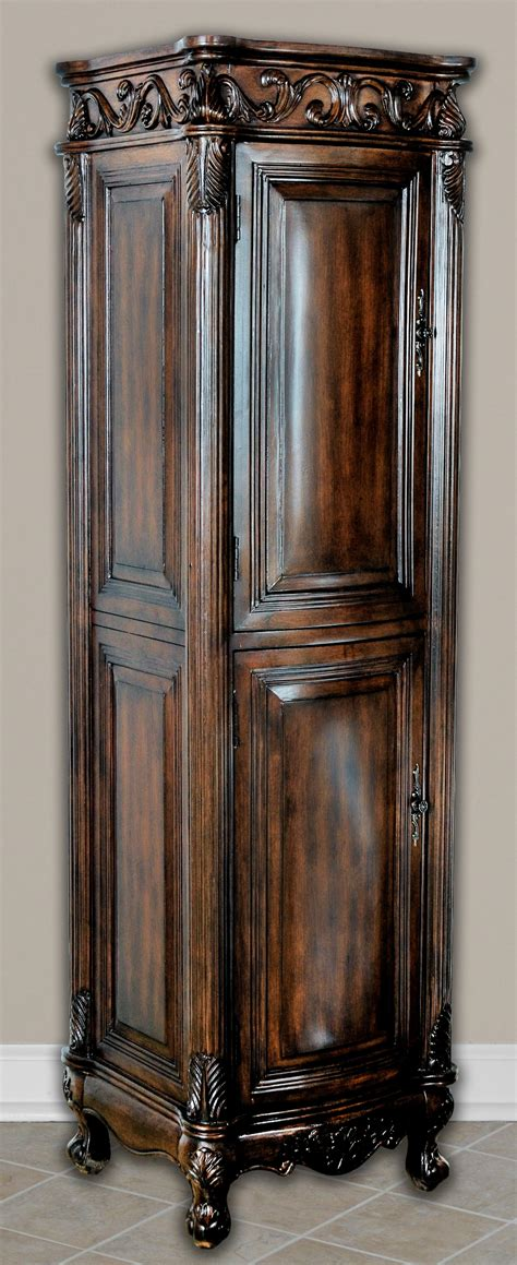 black linen tower cabinet 21in antonia vanity space saving cabinet antique