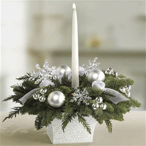 holiday table decorating centerpiece photograph christmas