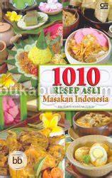Buku Farmasi Dan Kedokteran Seni Menulis Resep 1010 resep asli masakan indonesia bukabuku toko buku