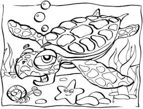 sea creatures coloring pages free printable coloring pages for