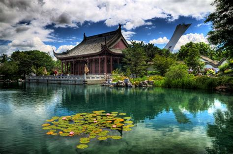 Best China Garden by The Beautiful Montreal Itravel World Wide