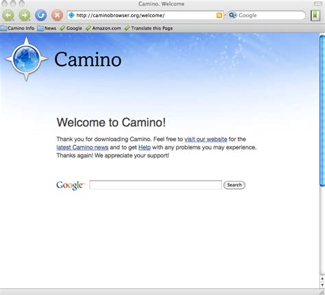 Camino Mac by Camino For Mac