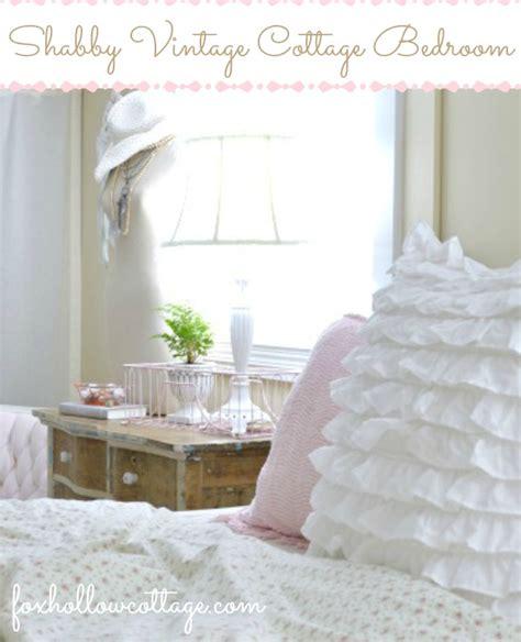 vintage cottage bedroom shabby vintage cottage bedroom fox hollow cottage